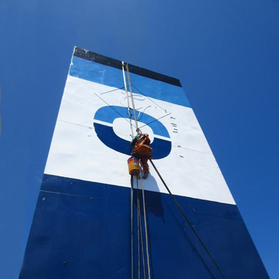 Cool Carriers logo on a banner